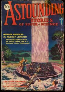 ASTOUNDING STORIES 1930 MAY-V.1 #5-THE ATOM SMASHER G