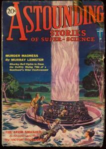 ASTOUNDING STORIES 1930 MAY-V.1 #5-THE ATOM SMASHER G