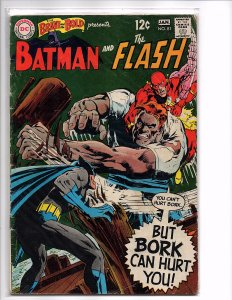 DC Comics Brave and the Bold #81 Batman and The Flash Neal Adams Art