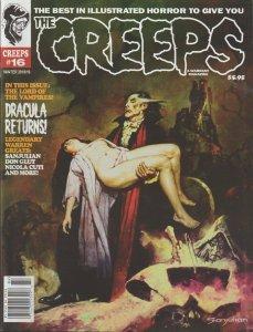 THE CREEPS #16 - FIRST PRINTING - COMIC HORROR MAGAZINE