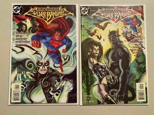 Superman Silver Banshee Set #1 and 2 6.0 FN (1998)