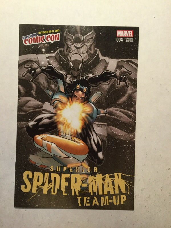Superior Spider-Man Team-Up 4 New York Comic Con Variant Near Mint Nm Marvel