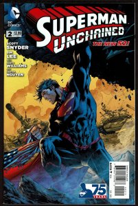 Superman Unchained #2  (Sep 2013, DC)  9.0 VF/NM