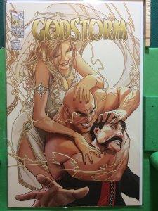 Grimm Fairy Tales presents Godstorm #2 cover B