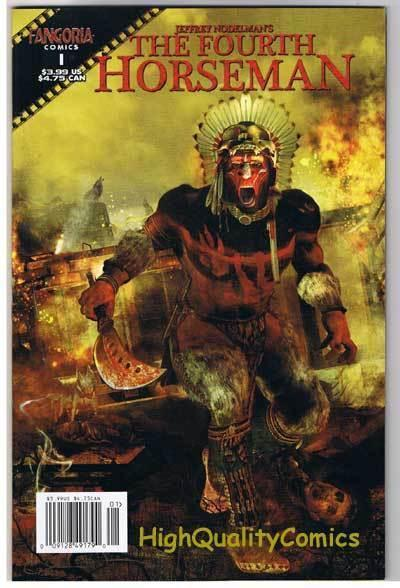 FOURTH HORSEMAN #1, VF/NM, Tommy Castillo, Fangoria, 2007, more Horror in store