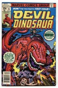 Devil Dinosaur #1 1st appearance-Jack Kirby Comic Book 1978