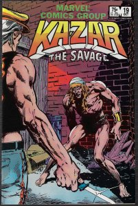 Ka-Zar the Savage #19 (Marvel, 1982)