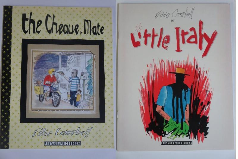 Eddie Campbell Little Itally and The Cheque, Mate Fantagraphics Humor Comics ++