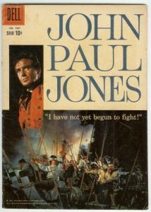 JOHN PAUL JONES (1959 DELL) F.C.1007 VG PHOTOCOVER COMICS BOOK