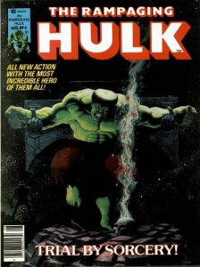 Rampaging Hulk #4 (ungraded) stock photo / ID#001D