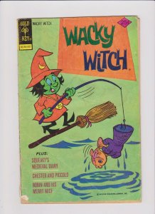 Gold Key! Wacky Witch! #19!
