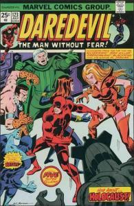 Marvel DAREDEVIL (1964 Series) #123 VF