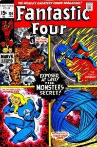 Fantastic Four (1961 series) #106, VG+ (Stock photo)