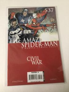The Amazing Spider-Man 537 Nm Near Mint Marvel