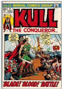 KULL THE CONQUEROR (1971) 5 VG Nov. 1972