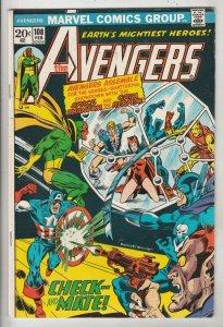 Avengers, The #108 (Feb-73) VF High-Grade Avengers