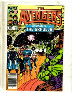 12 The Avengers Comics #259 261 262 263 264 265 266 267 269 270 271 272 GB2