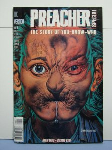 Preacher The Story Of You-Know-Who (DC Vertigo, Dec 1996) SIGNED Glenn Fabry