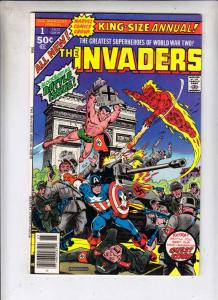 Invaders,The King-Size Annual #1 (Jan-77) VF+ High-Grade The Human Torch