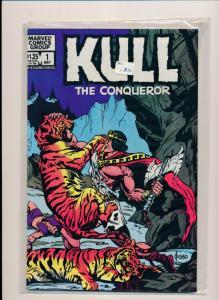Marvel Comics KULL the Conqueror #1 1983 FINE (HX674)