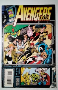 Avengers Log #1 (1994) Marvel Comic Book J757