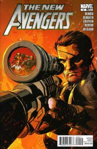 New Avengers (2nd Series) #9 VF/NM; Marvel   save on shipping - details inside