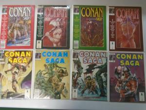 Conan Saga Lot (1987-95) 48 different issues 7.0 FN