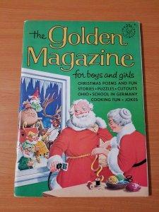 Golden Magazine For Boys and Girls Vol 2 #12 ~ VERY FINE - NEAR MINT NM ~ 1965