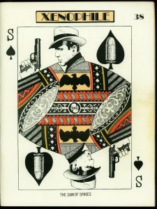 Xenophile Fanzine #38 1978- Sam Spade- Pulps - 4th Anniversary FN+