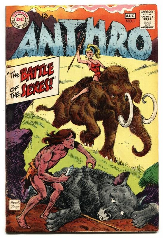 Anthro #1-DC HOWIE POST ART comic book-DC-1968