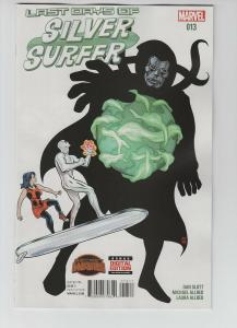 SILVER SURFER (2014 MARVEL) #13 NM- A43382