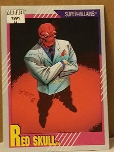 1991 Marvel Universe #90 Red Skull