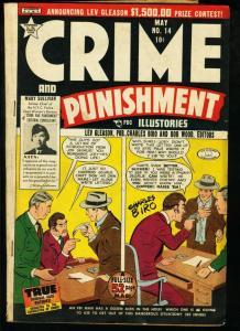 CRIME AND PUNISHMENT #14-PRE CODE CRIME-BIRO-1949 VG