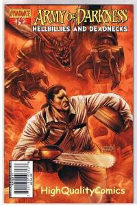ARMY of DARKNESS : Hellbillies & DeadNecks #14, NM, 2007, more AOD in store