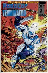ROBOCOP vs TERMINATOR #2, NM, Frank Miller, Walt Simonson, 1992, more in store