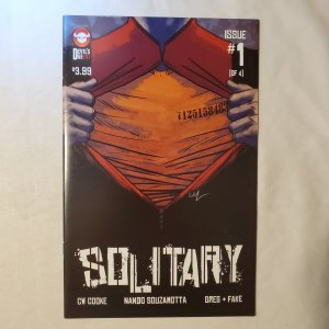 Solitary 1 Very Fine/Near MInt Cover by Carl Yonder