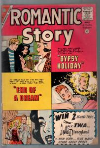 Romantic Story #48 1960-Charlton-Gypsy Holiday-spicy art-Key issue-VG-