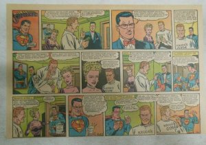 Superman Sunday Page #1179 by Wayne Boring from 5/20/1962 Size ~11 x 15 inches