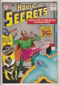 House of Secrets #74 (Oct-65) VF/NM High-Grade Eclipso