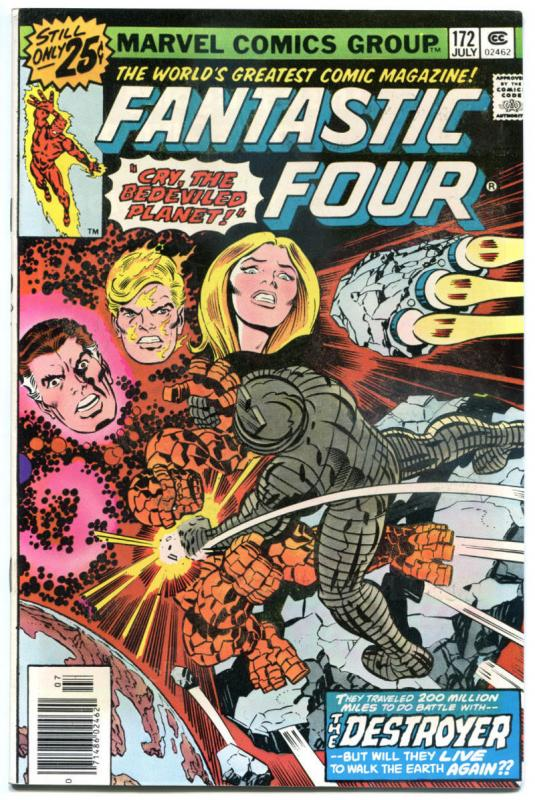 FANTASTIC FOUR #172, VF/NM, Galactus, High Evolutionary, 1961, more in store