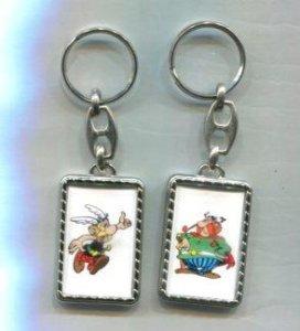 Llavero Asterix y Abraracurcix