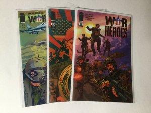 War Heroes 1-3 1 2 3 Lot Nm Near Mint Image