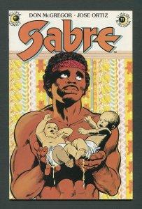 Sabre #11  / 7.0 FN/VFN  August 1984
