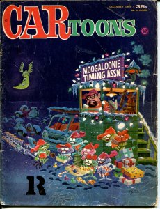 CARtoons #20 1964-Petersen-Christmas cover-Rick Griffin-Willie Ito-G