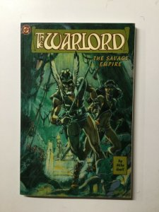 The Warlord The Savage Empire Tpb Sc Softcover Near Mint Nm Mike Grell Dc Comics