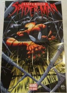 SUPERIOR SPIDER-MAN Promo Poster, 24 x 36, 2012, MARVEL, Unused 142