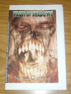 Vault of Shadows #6 VF/NM blue moon comics - ashcan size - horror michael vance