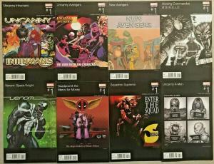 MARVEL HIP HOP VARIANT LOT OF 8 BOOKS NM 2016 INHUMANS, X-MEN, AVENGERS,