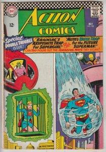 Action Comics #339 (Jul-66) VG+ Affordable-Grade Superman, Supergirl