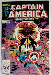 CAPTAIN AMERICA #288 Marvel Comics ID#MBX2
